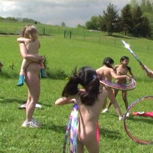 Family vacation for Czech naturists