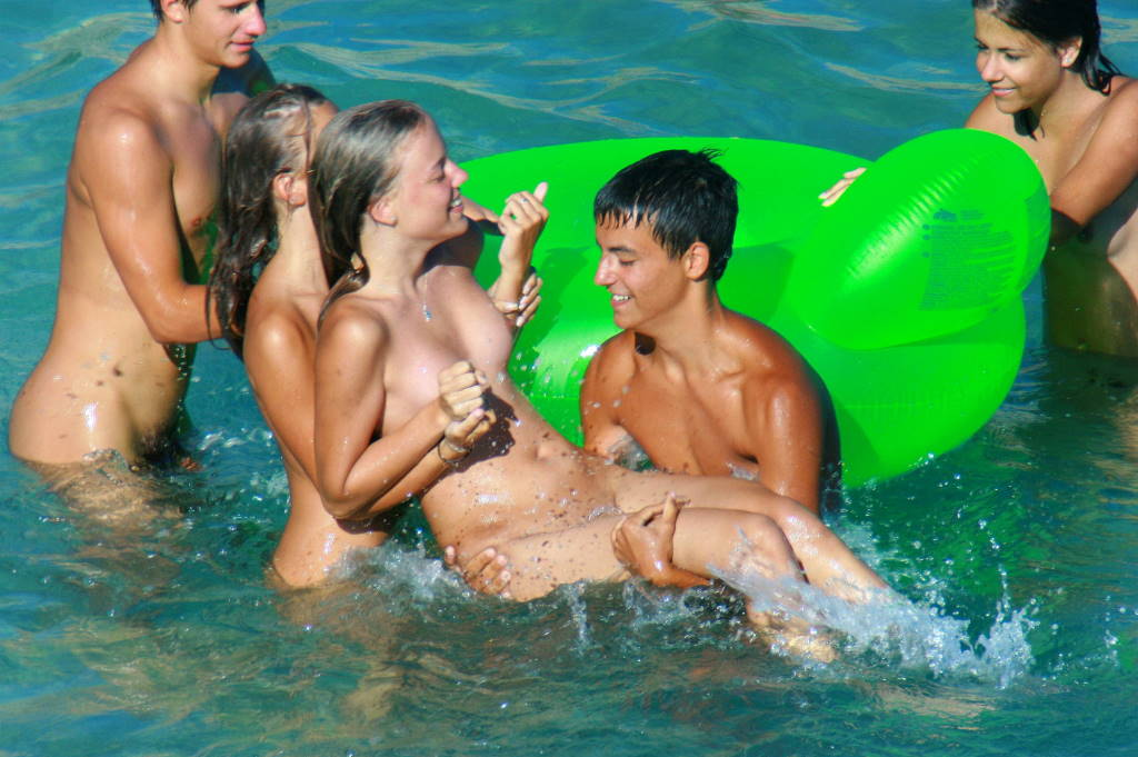 Nudism water location