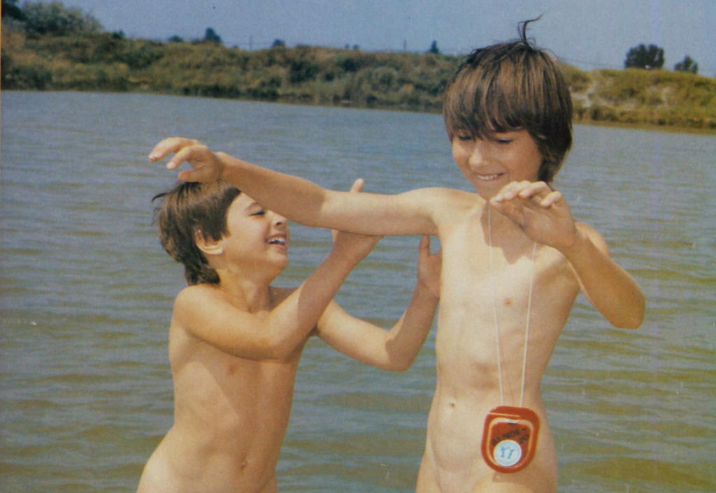 Naked fun for the naturist family