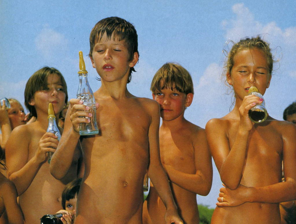 Competition young naturists
